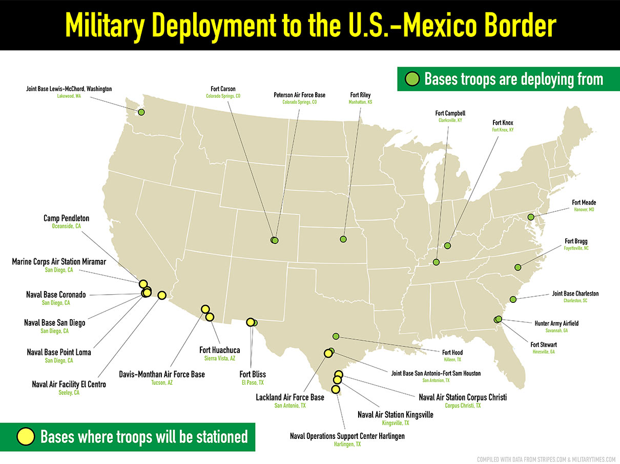 Sending the US Army to the Border Creates 'a War Atmosphere' | The