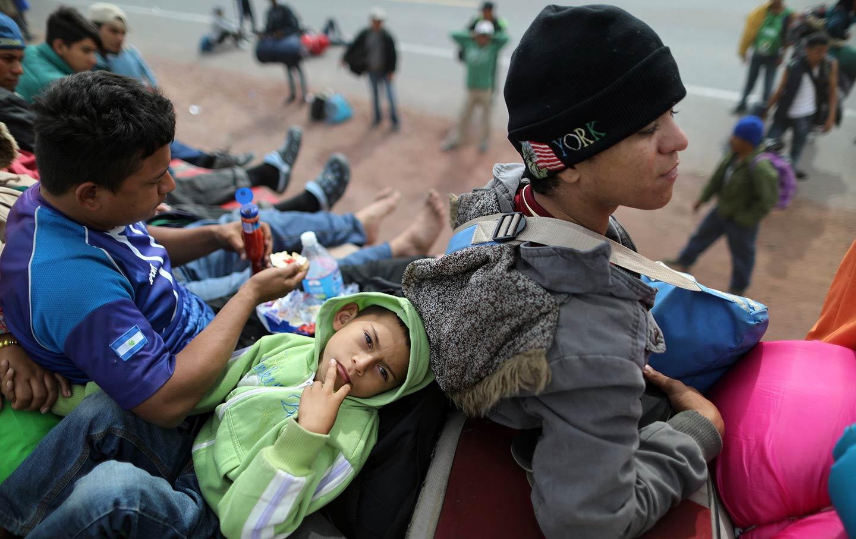 Migrant caravan from Honduras