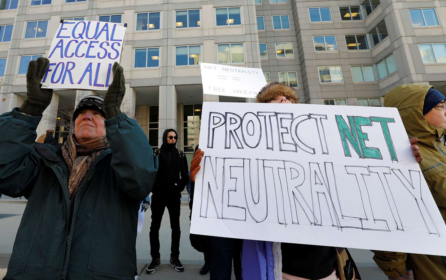 Net Neutrality Protest FCC