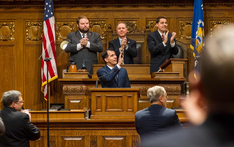 Scott Walker's Allies Are Plotting One Last Power Grab in Wisconsin