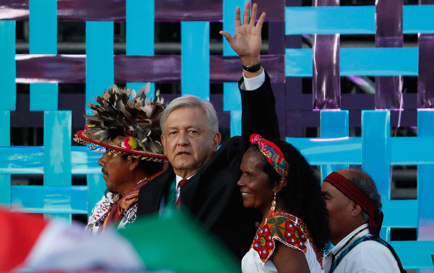 AMLO inauguration in Mexico