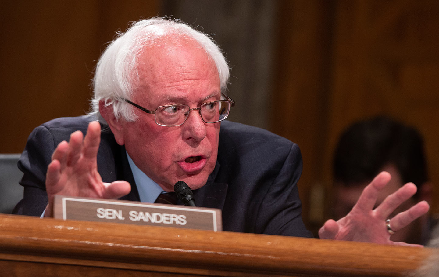 Bernie Sanders Getting the Senate to Check and Balance