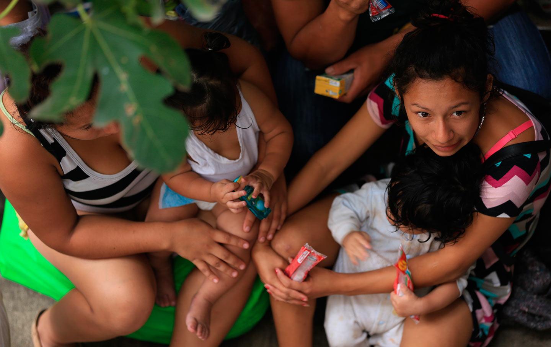 Honduran Refugees in Guatemala