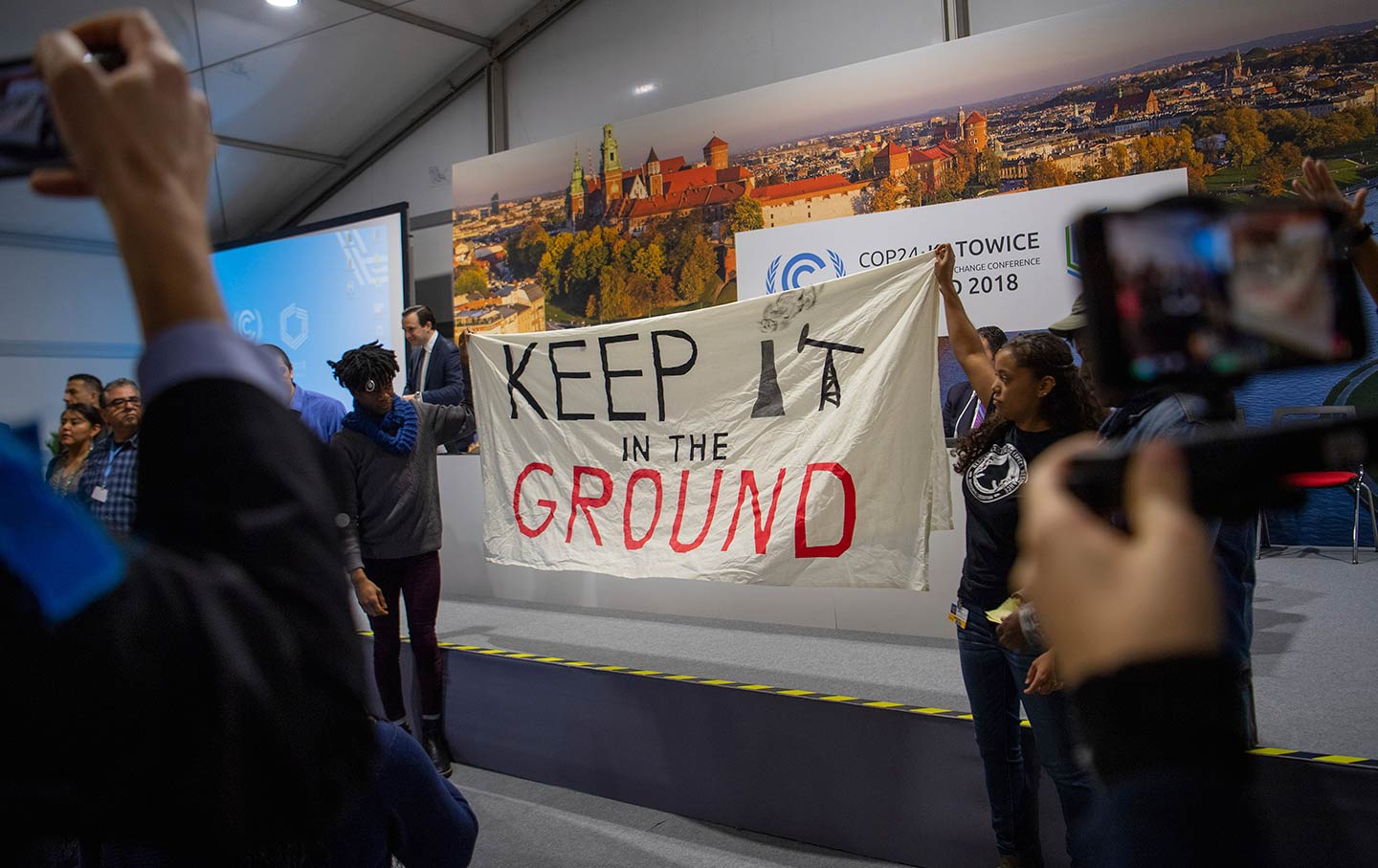 The Poland Climate Conference Is Awash in Corporate Meddling