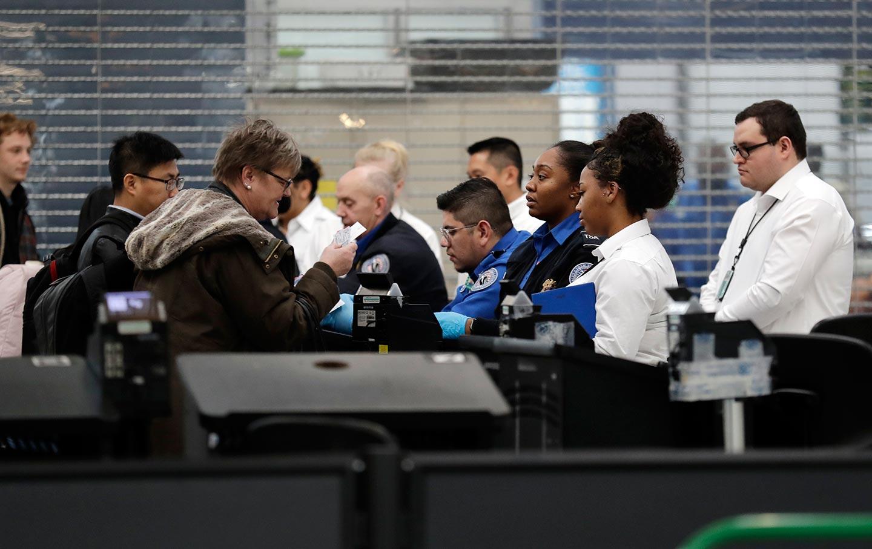TSA Workers During Shutdown