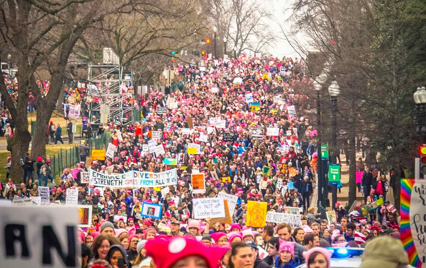Women's March, Washington DC