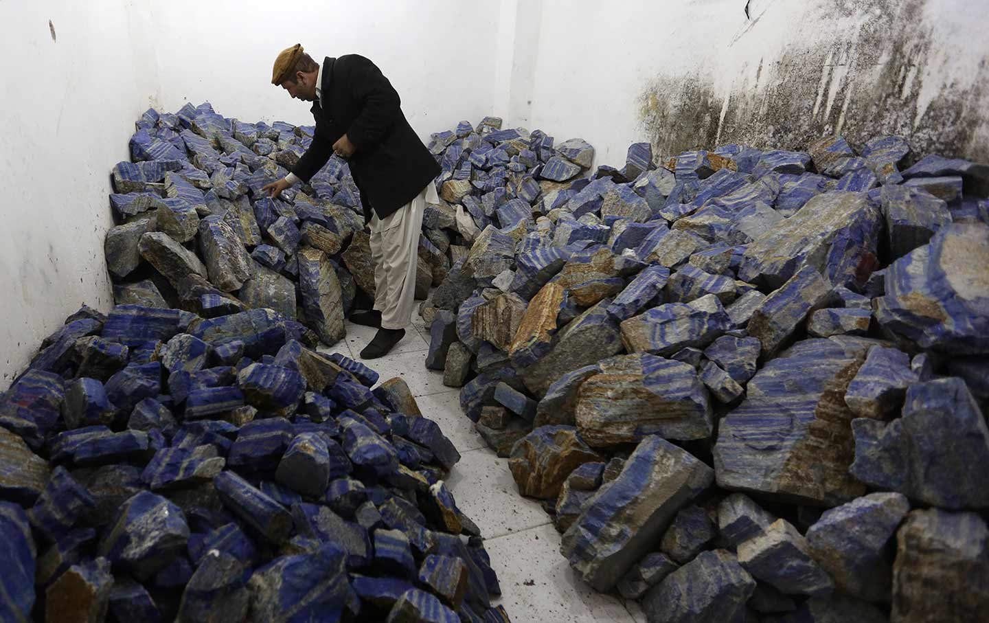 Mining Lapis in Afghanistan