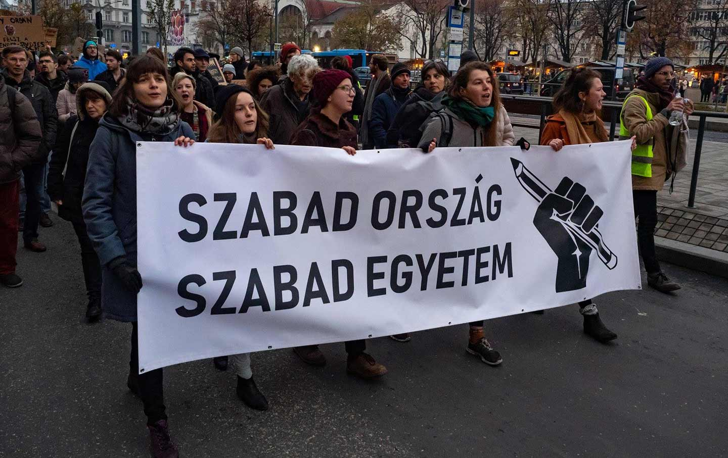 These Hungarian Students Are Fighting For Their Country's Democracy