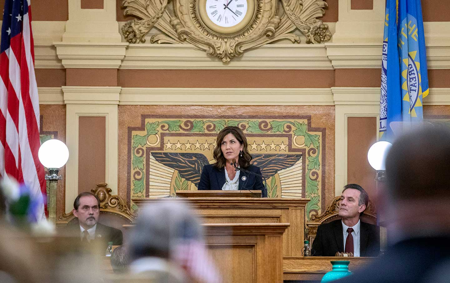 Governor of South Dakota Kristi Noem