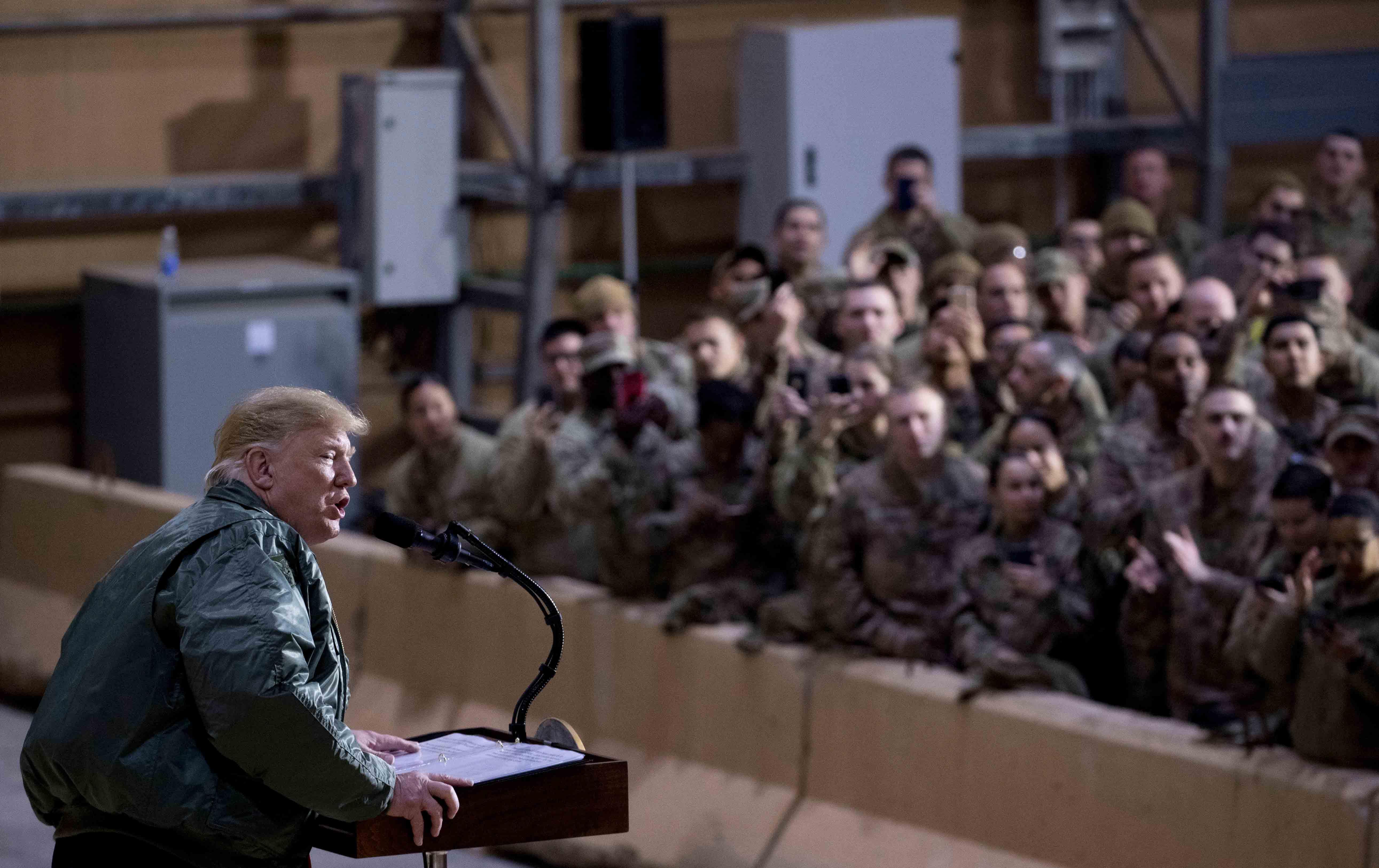 Trump at Hangar Rally