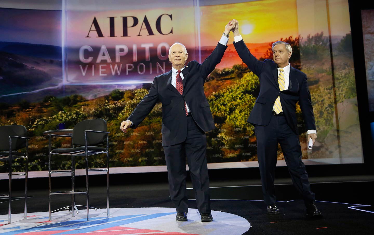 Senators at AIPAC