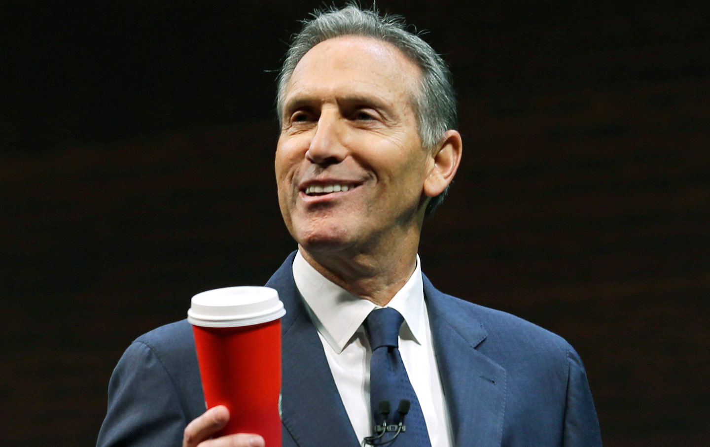 Howard Schultz is the coffee man.