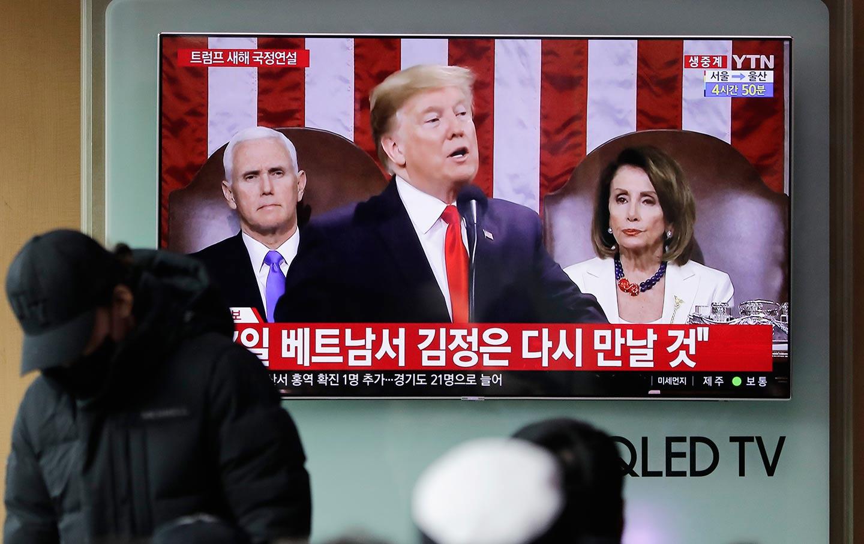 Trump SOTU South Korea