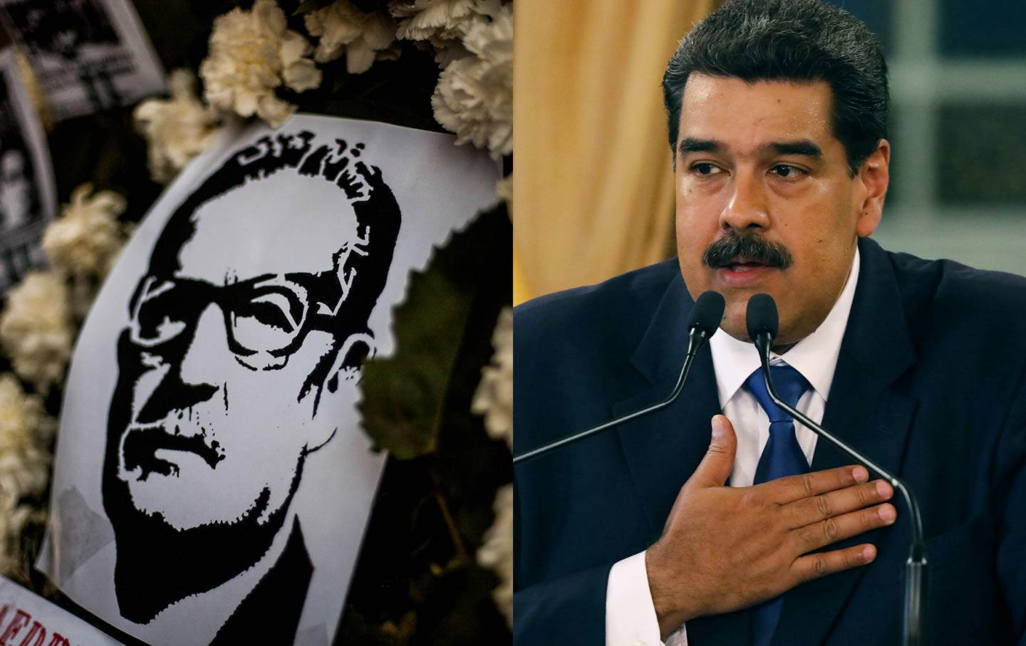 Allende and Maduro