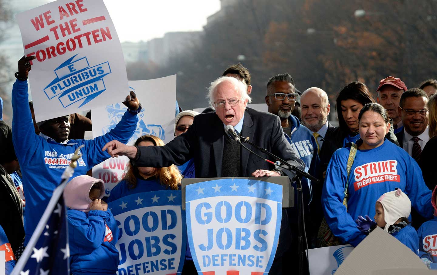 Bernie Sanders Is Making a National Issue of This Strike | The Nation