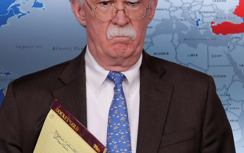 John Bolton Colombia