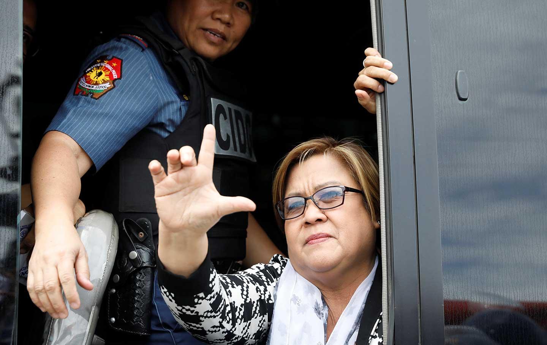 Philippines Senator Leila de Lima