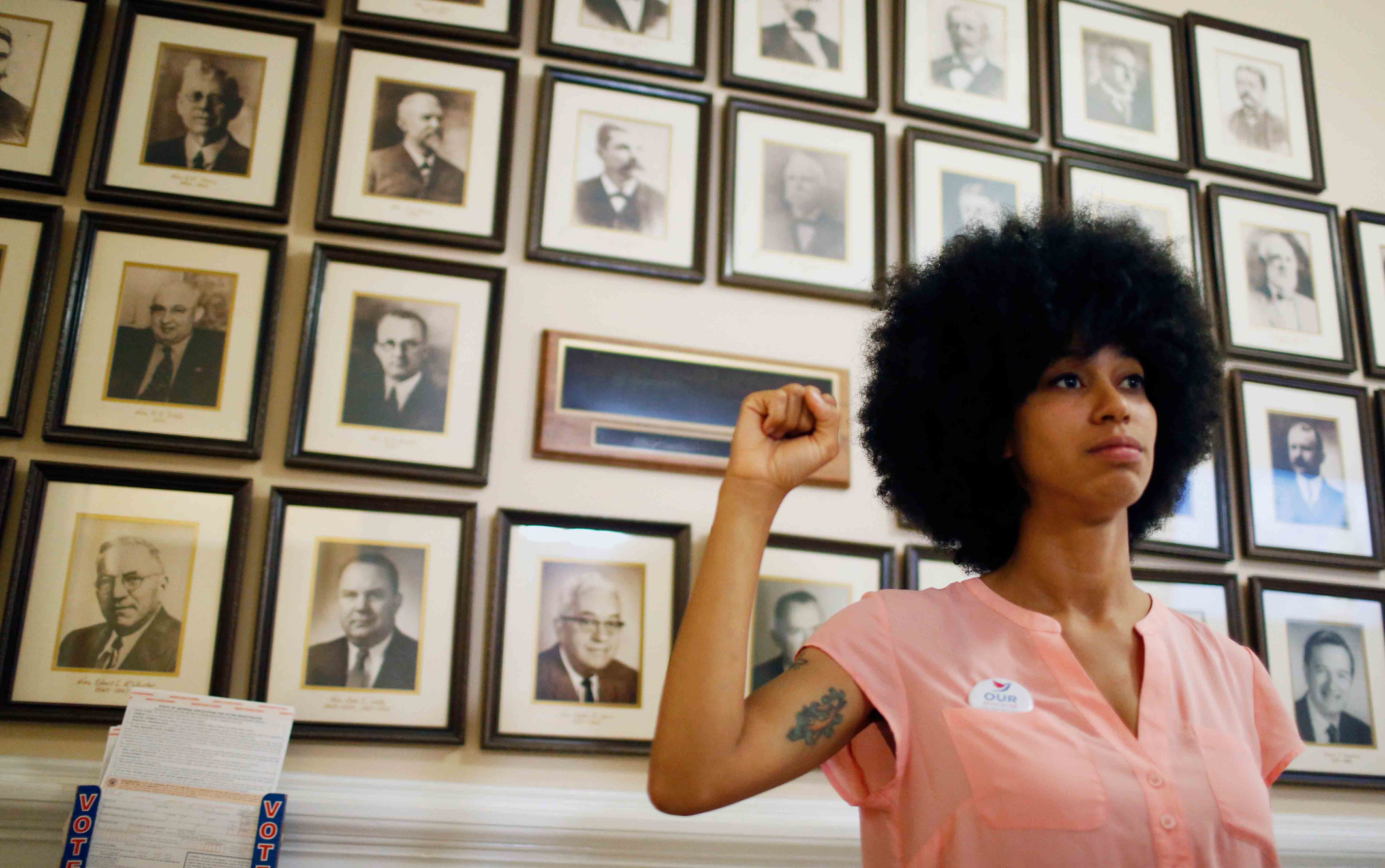 Mariah Parker, new Athens, GA county commissioner