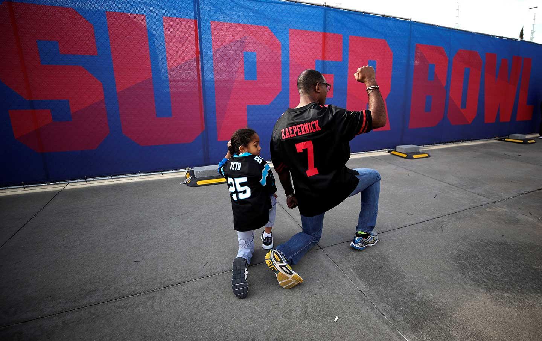 Super Bowl Protest