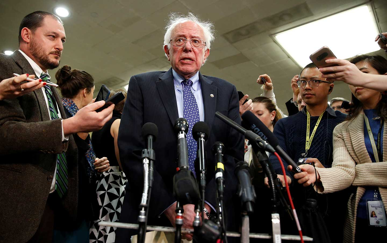 Sanders unflattering