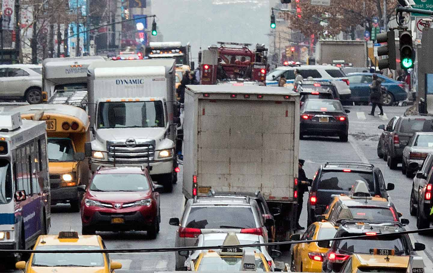Congestion in New York City