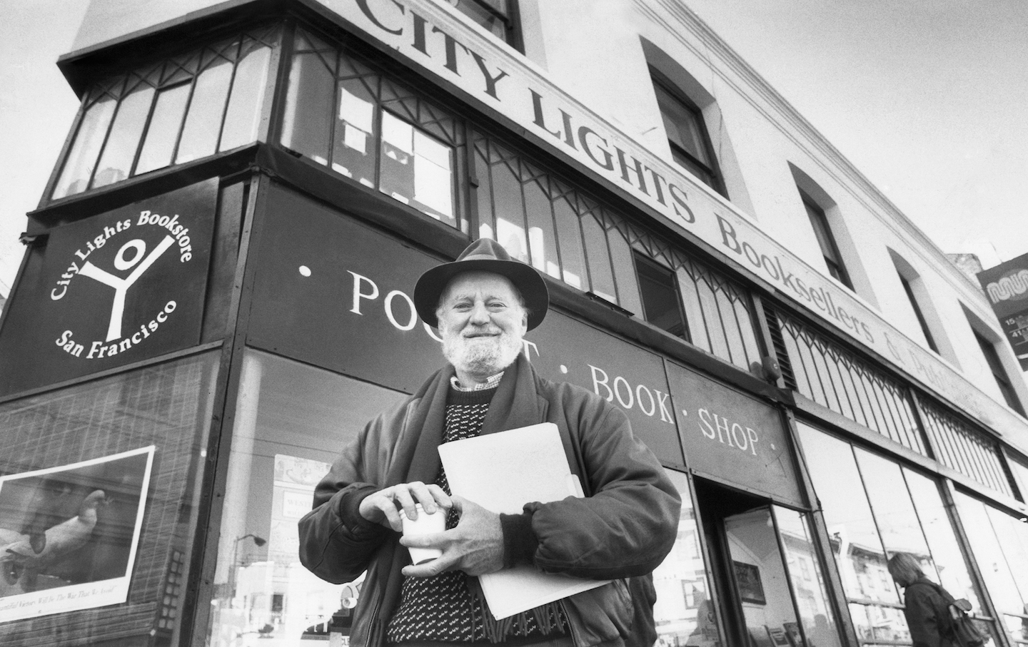 Poet Lawrence Ferlinghetti