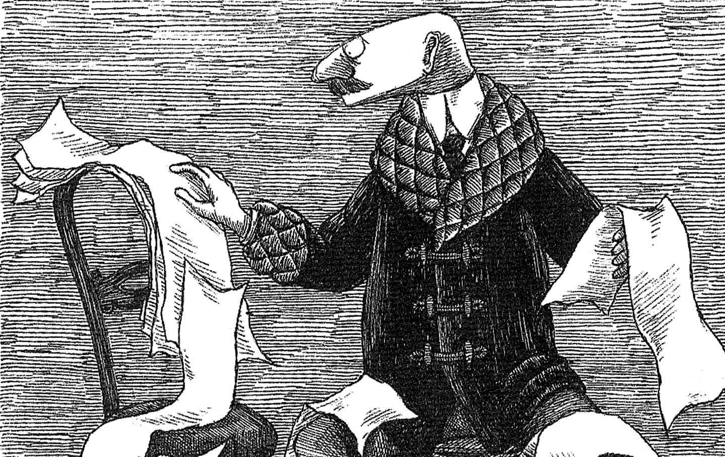 The Transfixing Spell of Edward Gorey's Life in Art