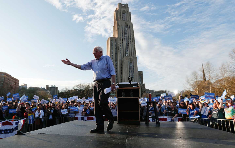 Bernie in Pittsburgh
