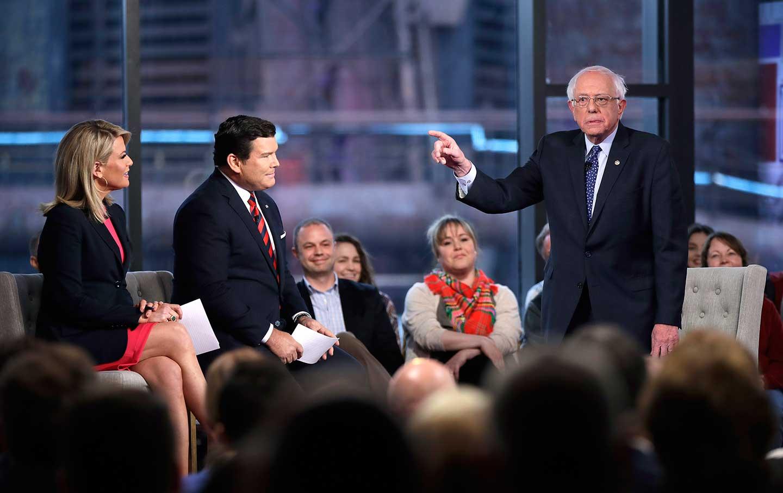 Bernie on Fox News