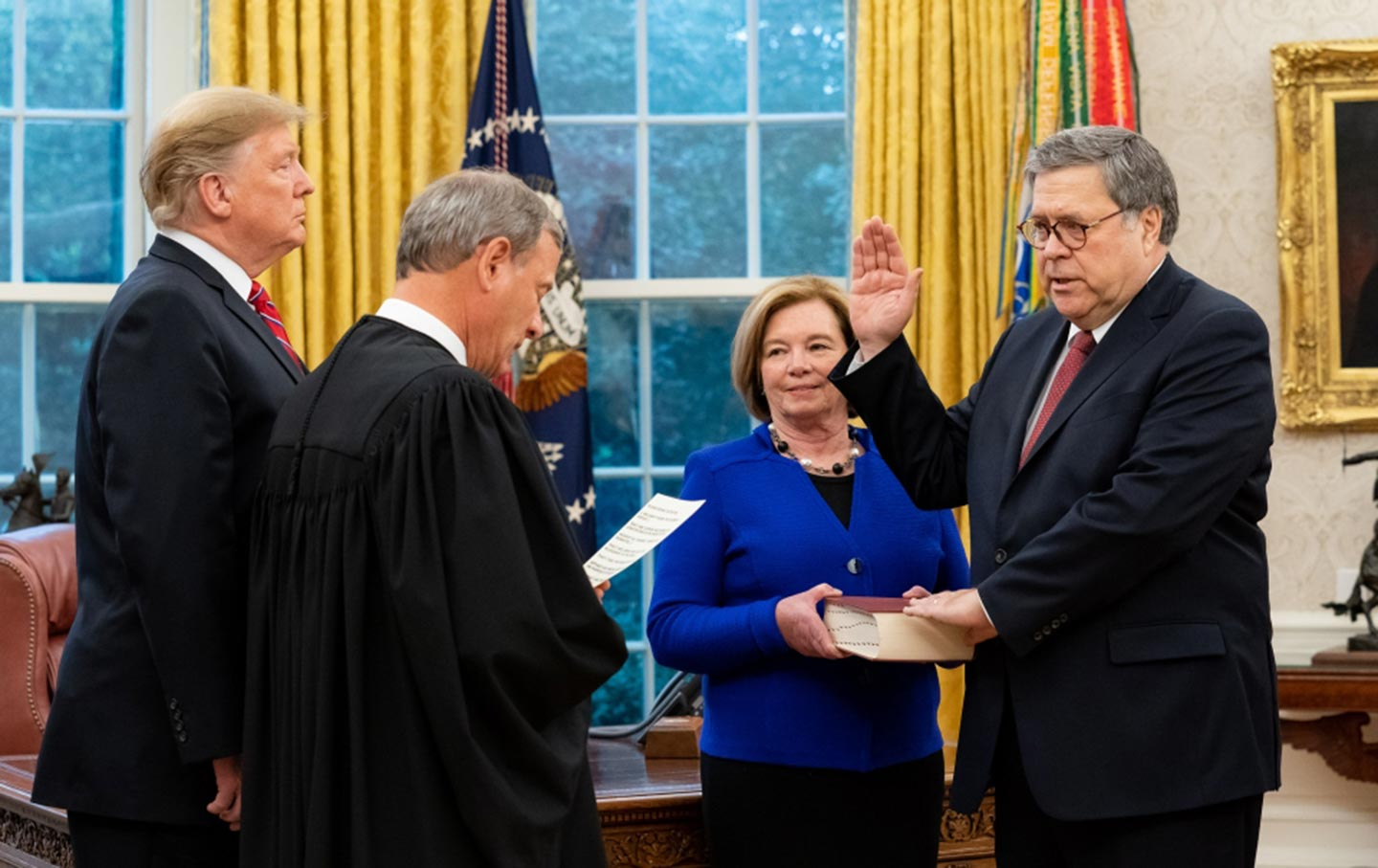 Bill Barr sworn in as Attorney General