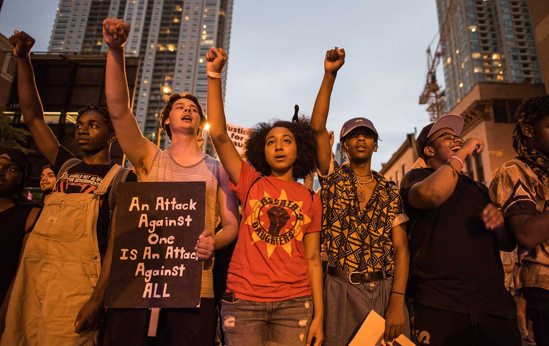 Black Lives Matter Chicago protest
