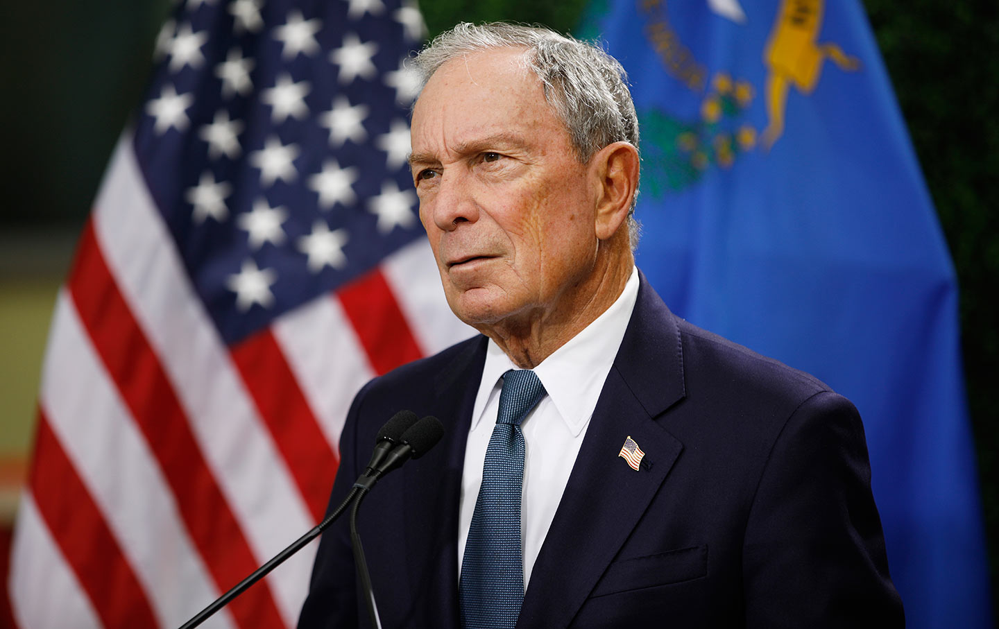 The Nation - Why Is the Media So Obsessed With Michael Bloomberg?