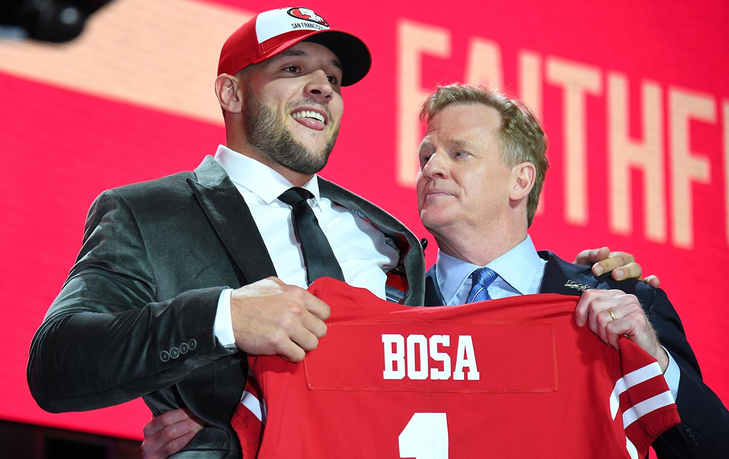 Image result for nick bosa draft