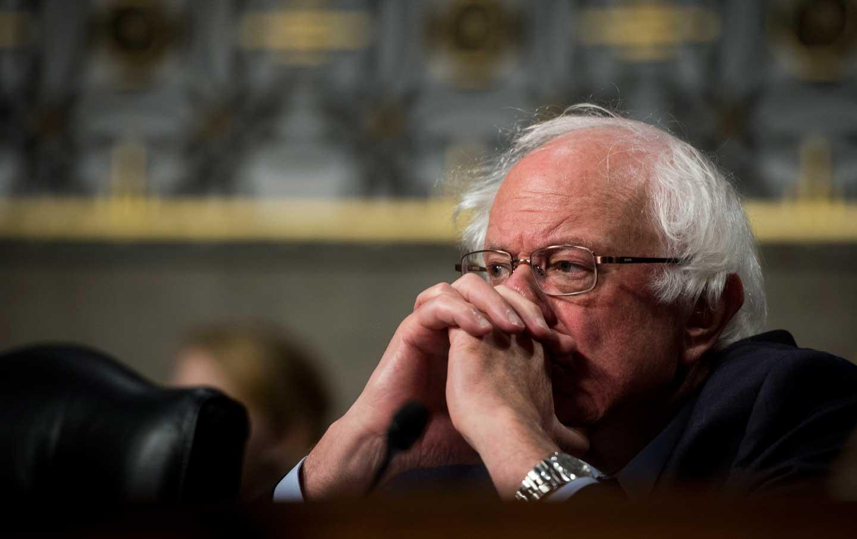 Bernie Sanders In Thought
