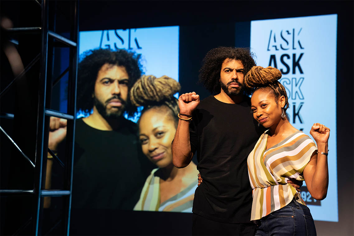 Daveed Diggs and Sheria Irving.