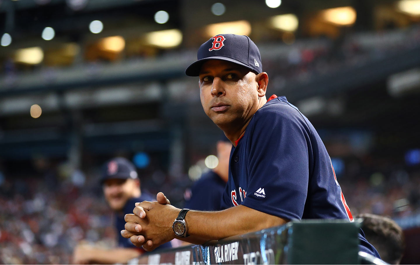 d983c85548726 Boston Red Sox manager Alex Cora at a baseball game in Phoenix in April.  (Mark J. Rebilas   USA Today Sports)