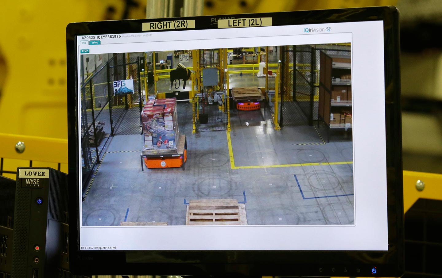 Worker surveillance at Amazon