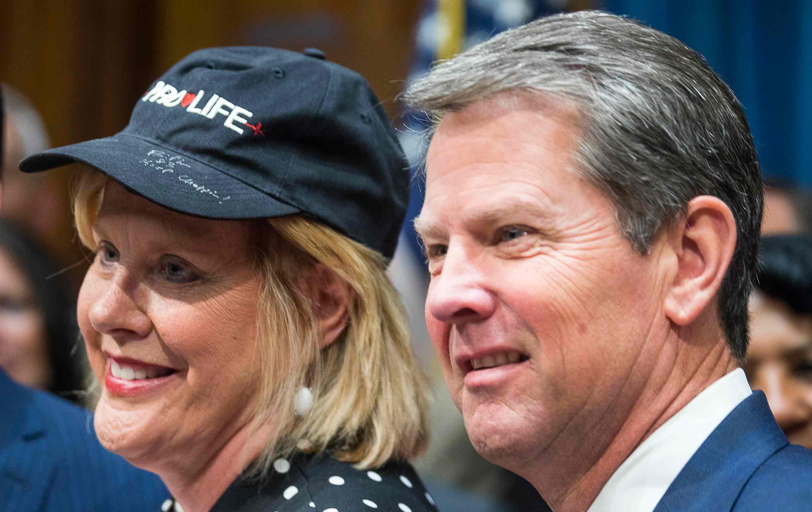Brian Kemp and Renee Unterman signs away women's reproductive rights