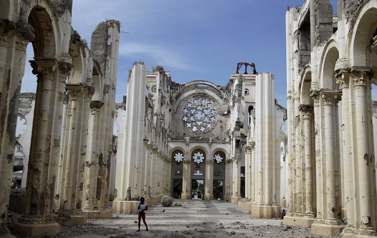 The Other Ruined Cathedral of Notre Dame—in Haiti