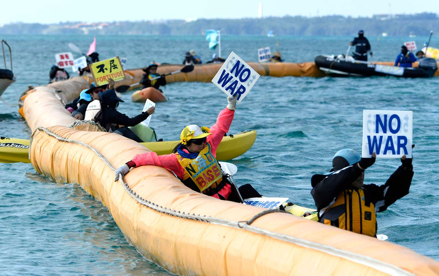 In Their Fight to Stop a New US Military Base, Okinawans