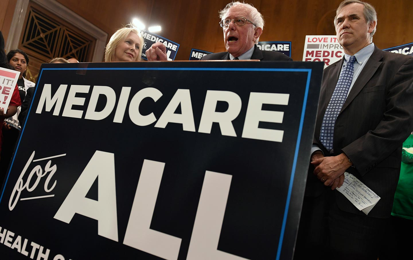 Bernie Sanders & Kristin Gillibrand Medicare for All