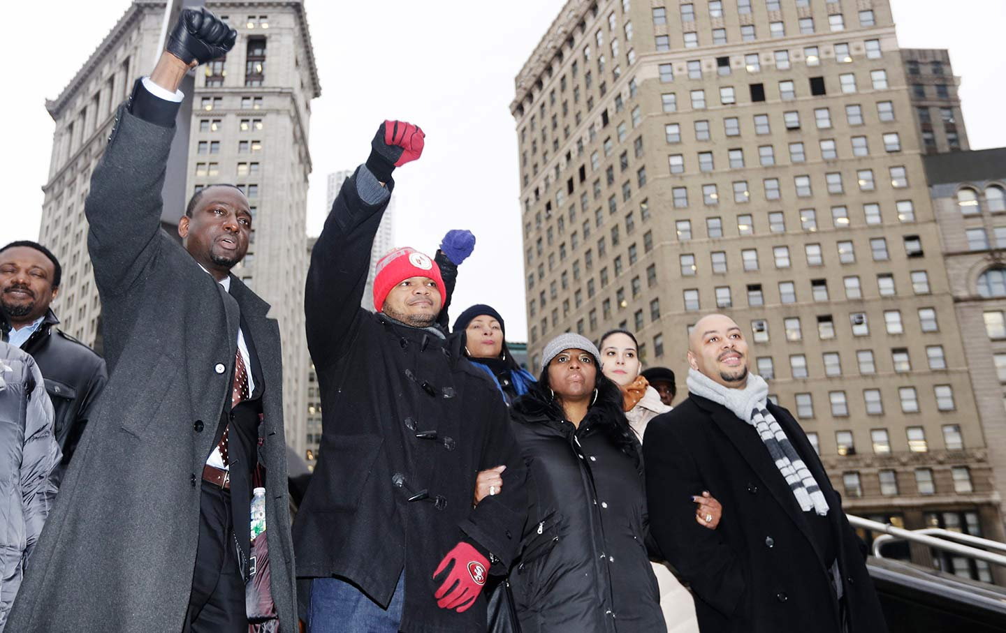 Central Park Five in 2012