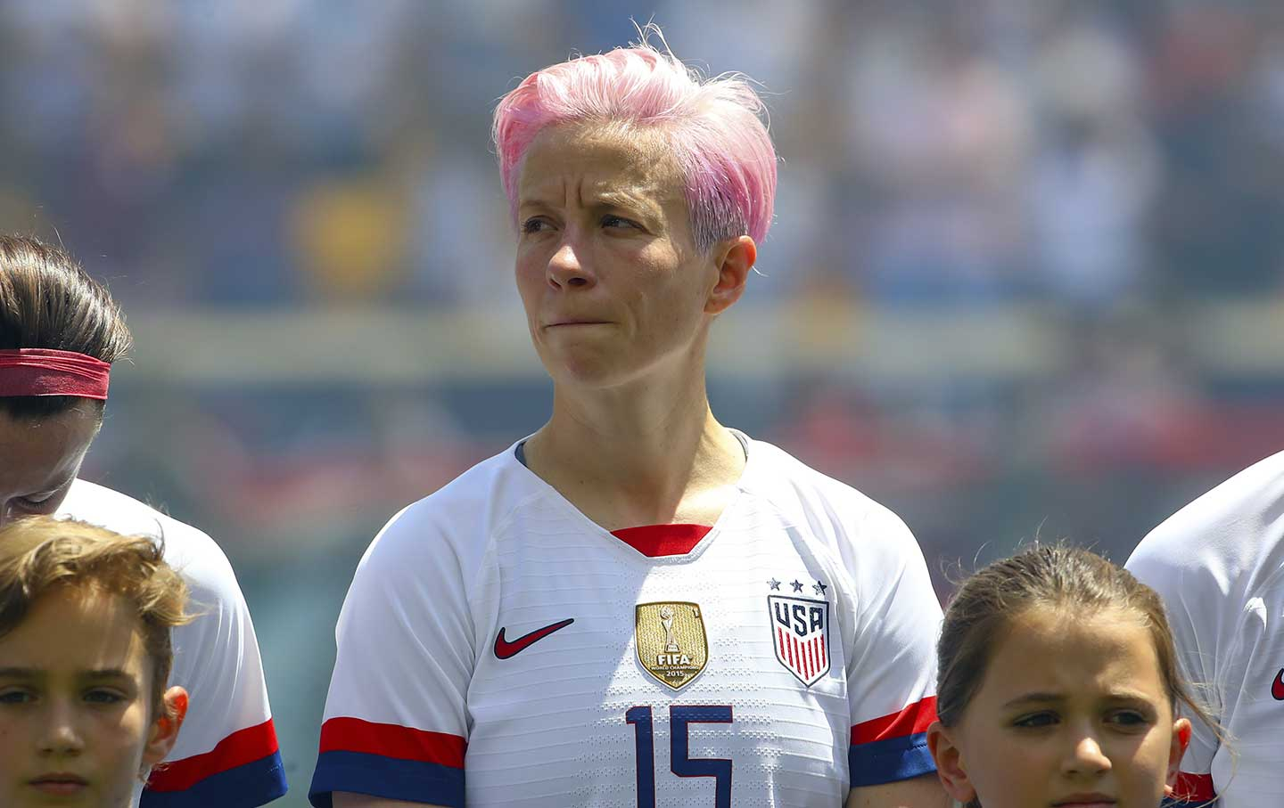 sports shoes ff97d 3048f Megan Rapinoe Is Right to Not Sing the Anthem | The Nation