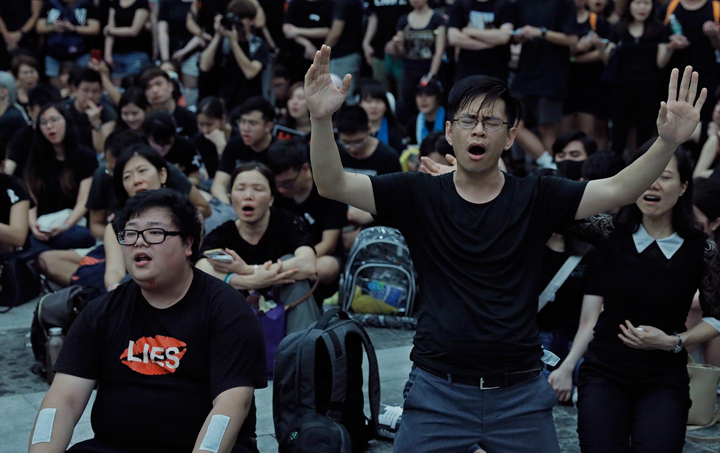Hong Kong extradition protesters