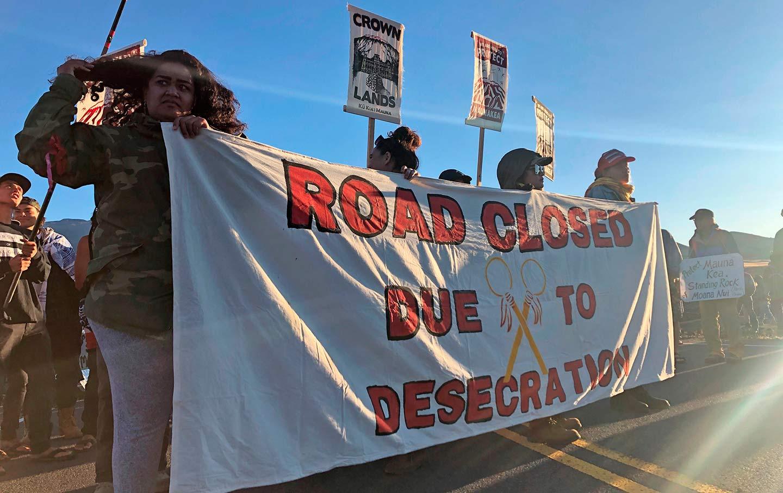 Hawaii Protests