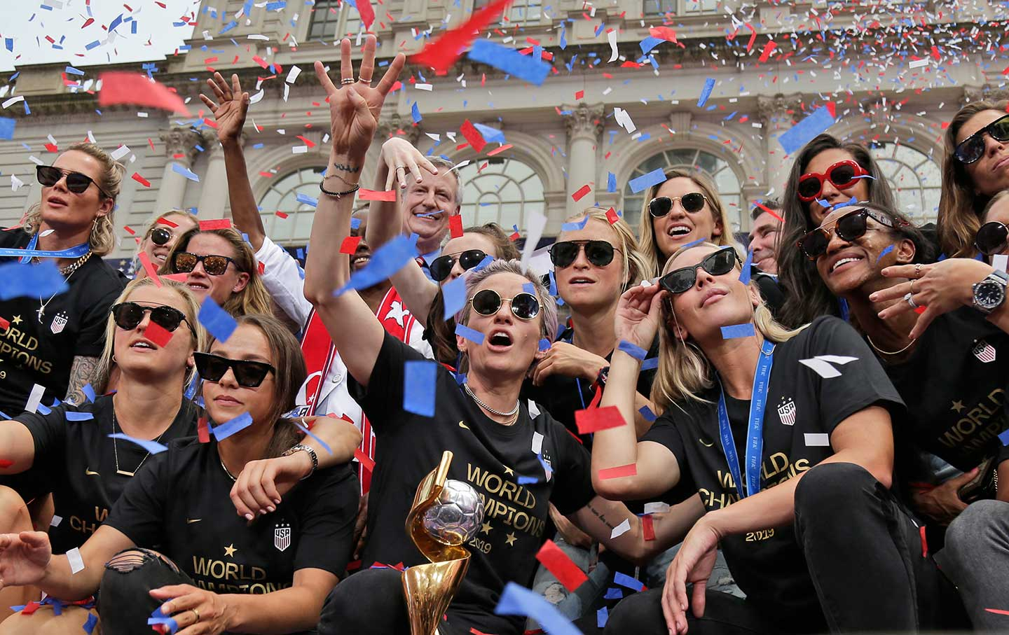 Megan Rapinoe and the USWNT Are the Heroes America Needed
