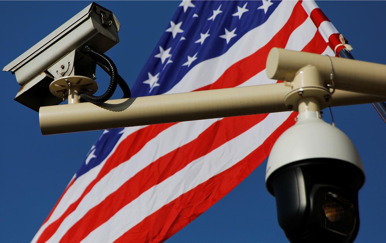 American Flag Cameras
