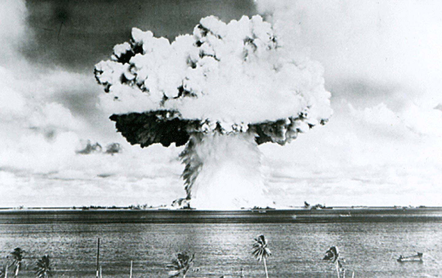 Marshall Islands Mushroom Cloud