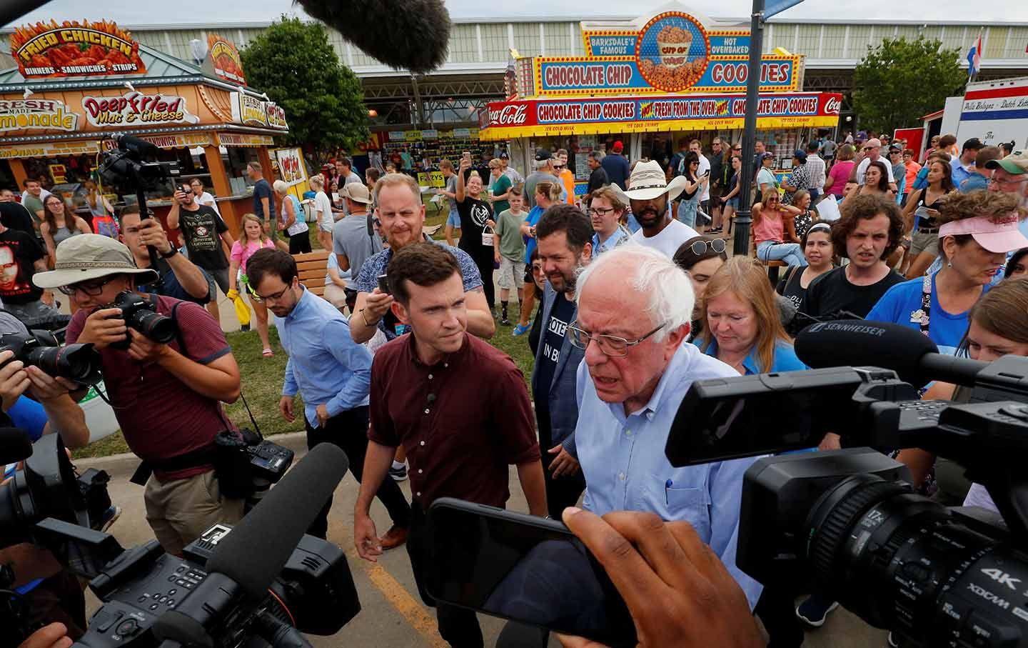 Bernie Sanders Is As Frustrated as Ever With Corporate Media
