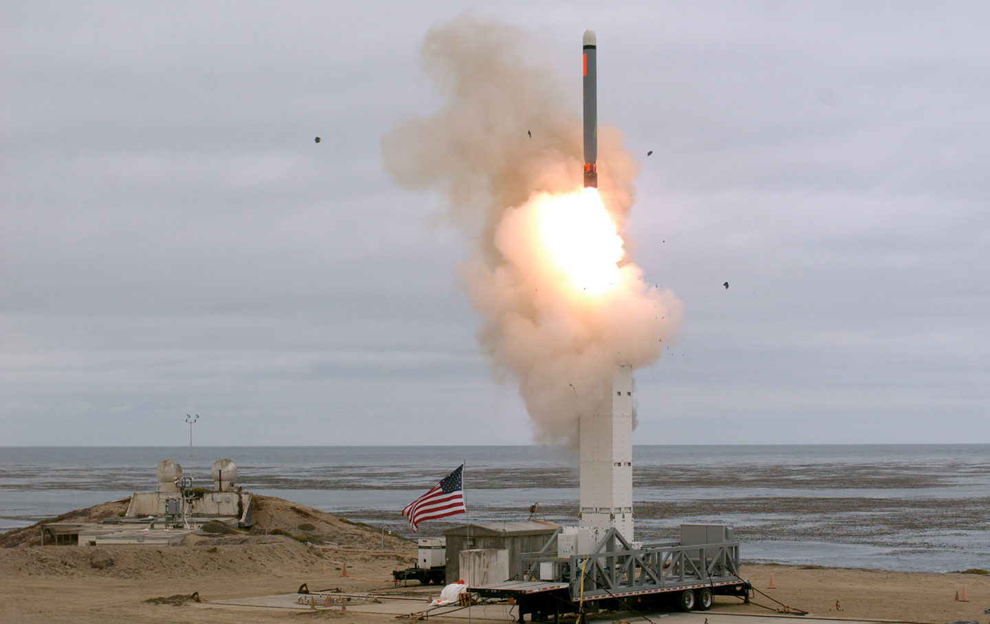 Department of Defense ground missile launch